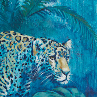 Night Prowler Wildlife Art - Artist Catherine Ingleby