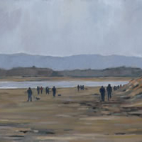 West Wittering Beach Sussex – Painting
