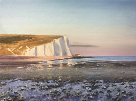Cuckmere Haven Oil Painting - East Sussex Art Gallery