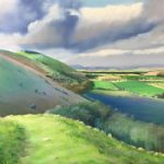 Devil's Dyke South Downs Near Brighton Sussex – Art Prints of Countryside View