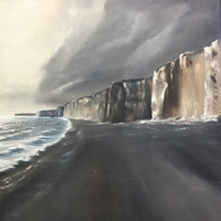 Jurrasic Coast Oil Painting – Devon Dorset Art Gallery