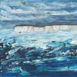 Sailing Close to the Wind – Beachy Head Cliffs Sea View – Fine Art Prints for Sale