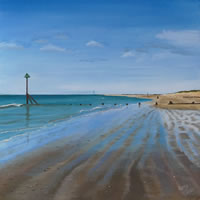 West Wittering Beach Low Tide - Sussex Art Scenes