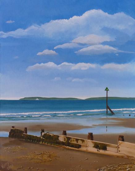 Wittering Beach - Sussex Art Scenes