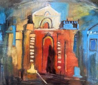 Portfolio - Architecture - Mysterious Place - East Sussex Artist Sue Branch
