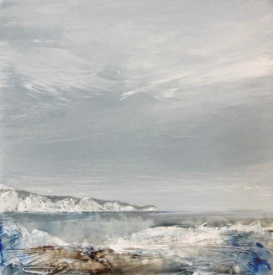 Seven Sisters East Sussex Miniature - Pure Arts Group member Lewes Artist Leila Godden