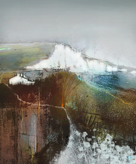 Seven Sisters Country Park Seaford - Eastbourne Sussex - Landscape and Seascape Artist Chris Hill