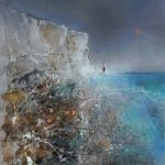 Chalk White Cliffs Beachy Head – Downs and Sea – Eastbourne Sussex Gallery – Artist Chris Hill