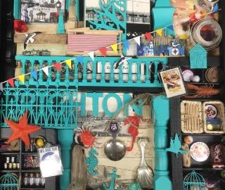 Brighton Sussex Mixed Media & Objets Trouvés - Contemporary Crawley Artist Tom Glynn
