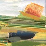 Haystack with Pool Landscape by Crawley Sussex Artist Tom Glynn