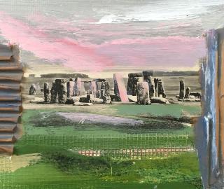 Stonehenge Wiltshire England - Crawley Artist Tom Glynn