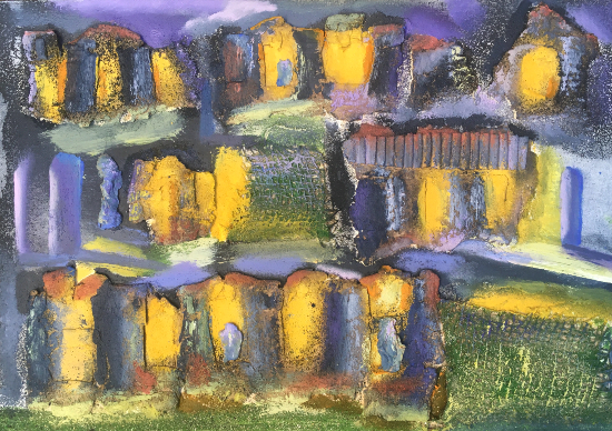 Urban Lights - Abstract Art - Crawley West Sussex Artist Tom Glynn