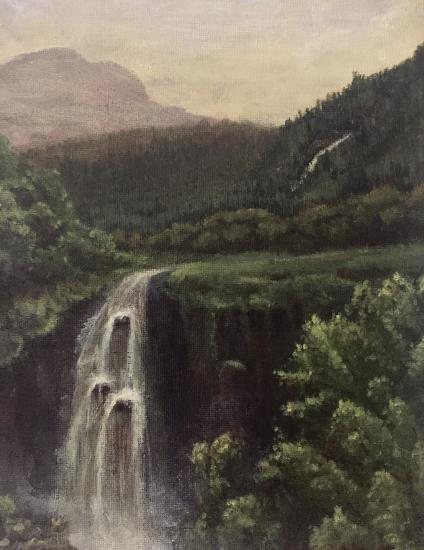 Arrochar - Scotish Highlands Landscape Painting - Horsham West Sussex Artist Lizzy Montague