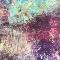 Abstract Art – Summer Life by Contemporary Sussex Artist Amanda Mavin