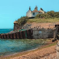 Cuckmere Cottages East Sussex – Digital Artist Sam Taylor