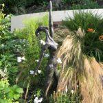 Garden Bronze Sculpture – The Tall Lady – Contemporary Sussex Sculptor Steve Bicknell