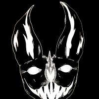 Punk Art – Bat of Darkness – Battle East Sussex Contemporary Artist Frankie Lüschitz