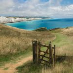 Seven Sisters Gate and Cliff Walk – Seaford East Sussex Digital Artist Sam Taylor