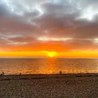 Seaford Beach East Sussex – Sunset – Digital Artist Sam Taylor