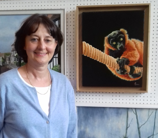 Nathalie Bos - Exhibiting Animal and Wildlife Artist from Mayfield East Sussex